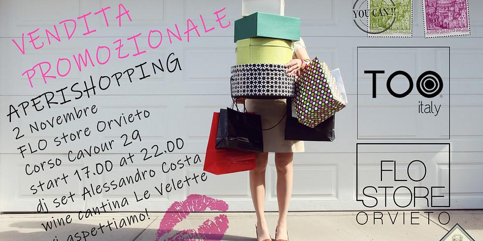 Aperishopping e DJ Set ad Orvieto