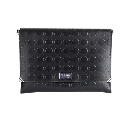 Clutch con Tracolla Black Dot