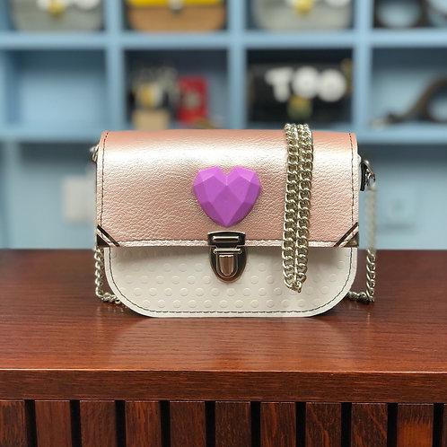Mini Chicca Geometric Heart
