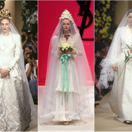 17 από τα πιο όμορφα γαμήλια φορέματα τoυ Yves Saint Laurent