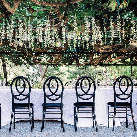 Κήπος. Μια έξοχη γαμήλια έμπνευση που αξίζει να δεις