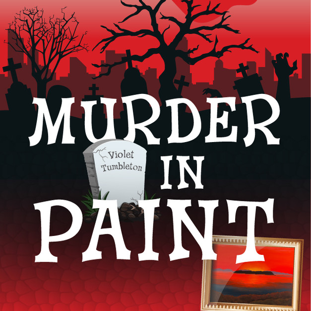 Murder in Paint (Ghostly Hitchhiker 1)