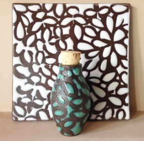 Bottle and Ceramic Tile
