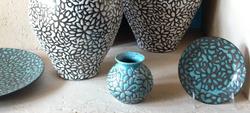 Large Jugs, Platter, Plate, Vase