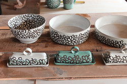 Bowls, Platters and Butter Dishes