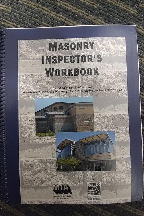 Masonry Inspector's Workbook