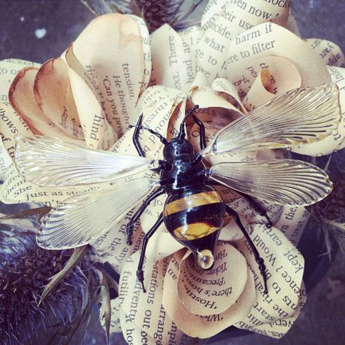 Becky Haywood Glass Bee