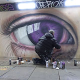 Live street art from the amazing Gnasher Murals; an artist who has painted large scale murals for Xbox, Ford , West Ham Utd and Easyjet, amongst others.