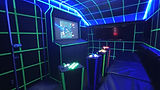 An arcade on wheels with al your favourite retro games