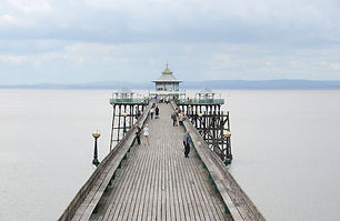 English seaside pier