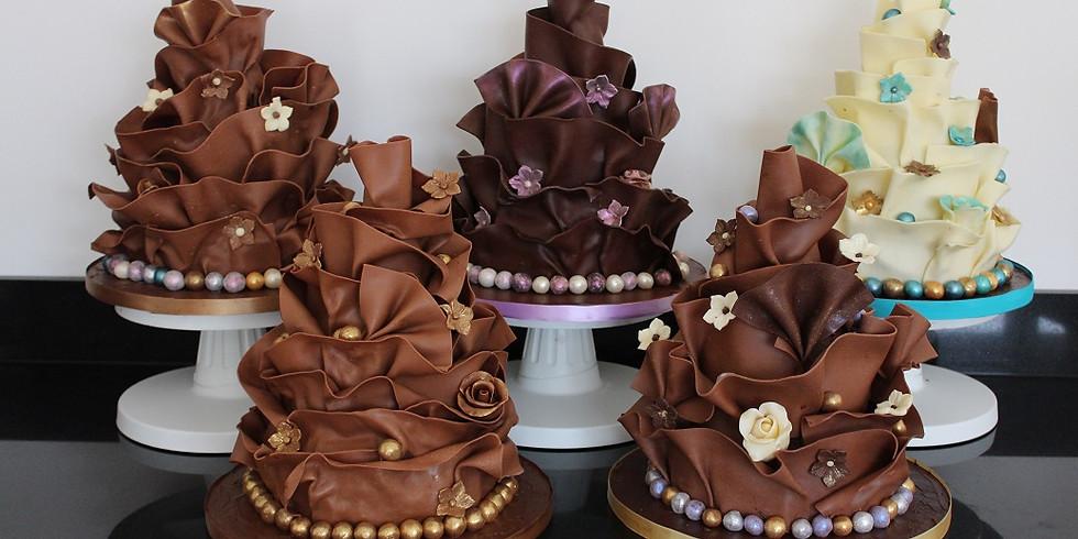 Chocolate Wrap Cake Class £155 - FULL