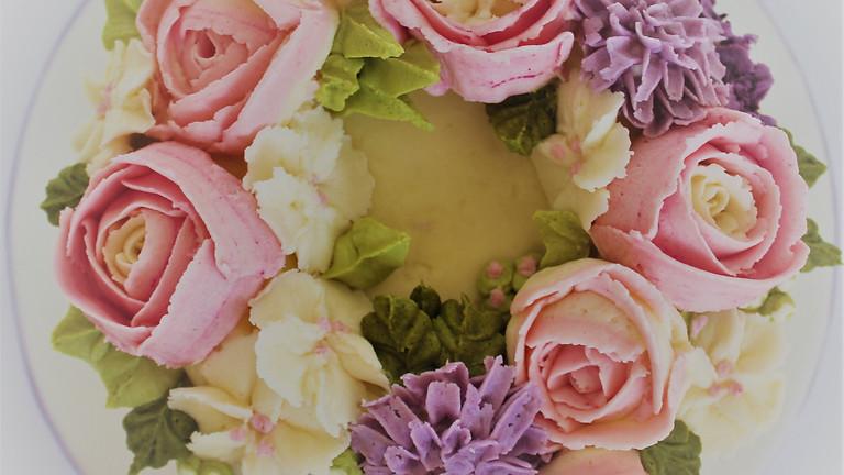 Buttercream Flower Cake £99 FULL