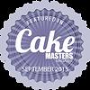Sarah Thomas - September 2015 Cake Maste
