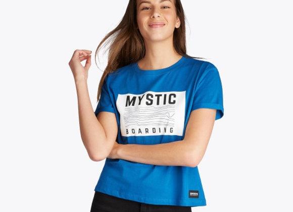 Mystic Charley Tee - Flash Blue