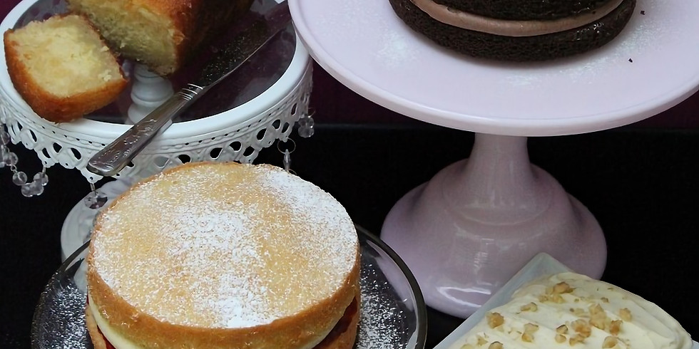 Cake Baking Masterclass £125