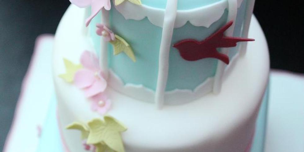 Birdcage Cake Class