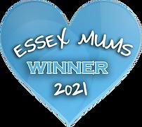 Essex Mums Winner 2021 Award Logo