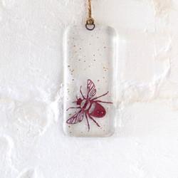 Becky Haywood Glass bee dangle