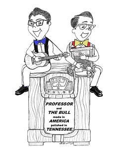 professor and the bull radio   art.jpg