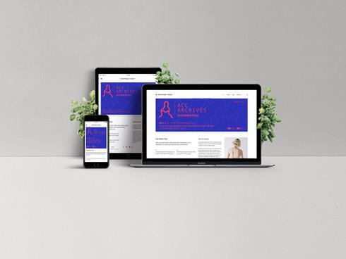 국립아시아문화전당-아시아문화아카이브 지면&웹 광고