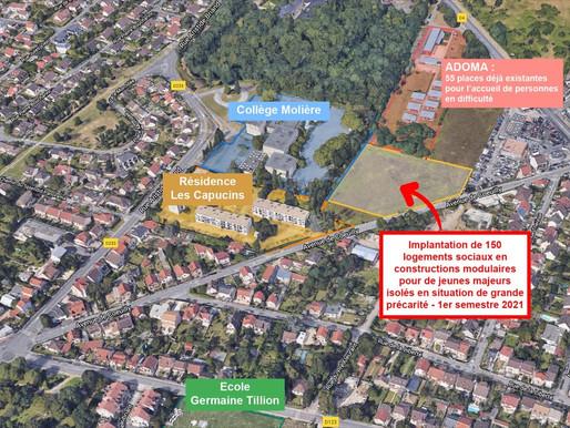 Centre d'accueil de 150 jeunes adultes isolés à Chennevières : le maire nous cache le projet