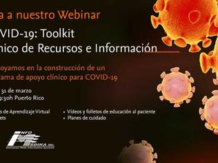GRATIS! COVID-19: Toolkit Webinar