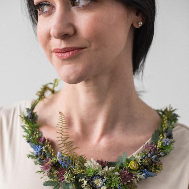 Delicate Botanical Necklace