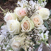 Bridal Bouquet, spring, roses, nerine lilies, ginestra,