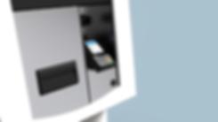 La poste banque postale calise borne  Part de reve design Agence Nantes