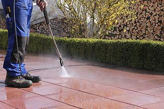 High-pressure cleaner, terrace.jpg