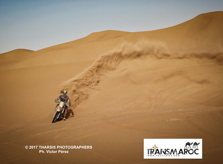 Galería de imágenes XI TRANSMAROC. Frontera de Argelia