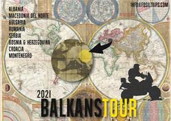 Balcanes en moto