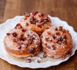 """""""Bacon"""" Donuts"""