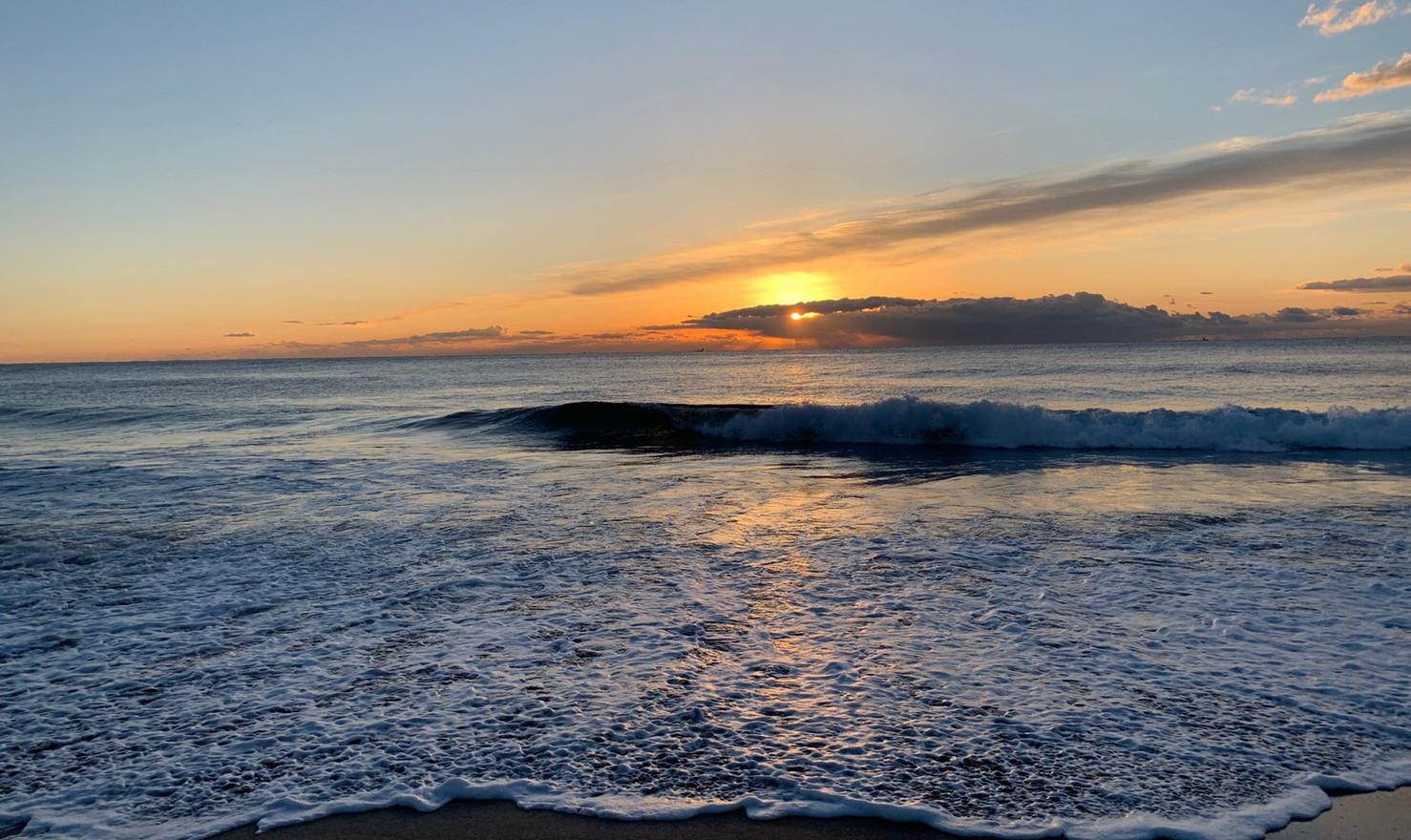 海と山。大自然と共に…
