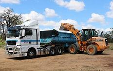 Endloader Truck