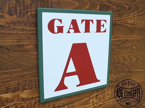 Boston Gate Sign