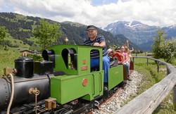 Alpine culture playground Lenkersee