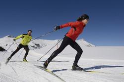 cross county skiing on Haslerberg