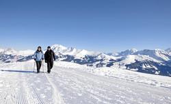70 km de chemins pédestres d'hiver
