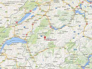 Lage in der Schweiz