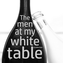 men at my white table