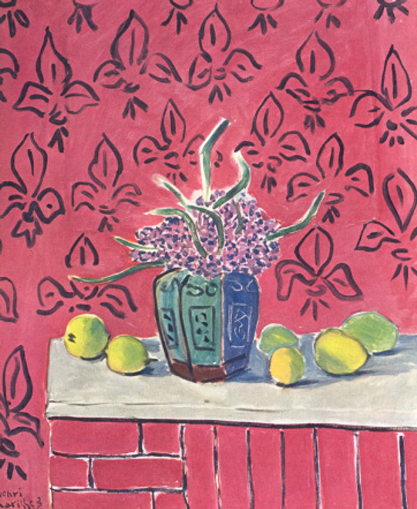 matisee still life with lemons