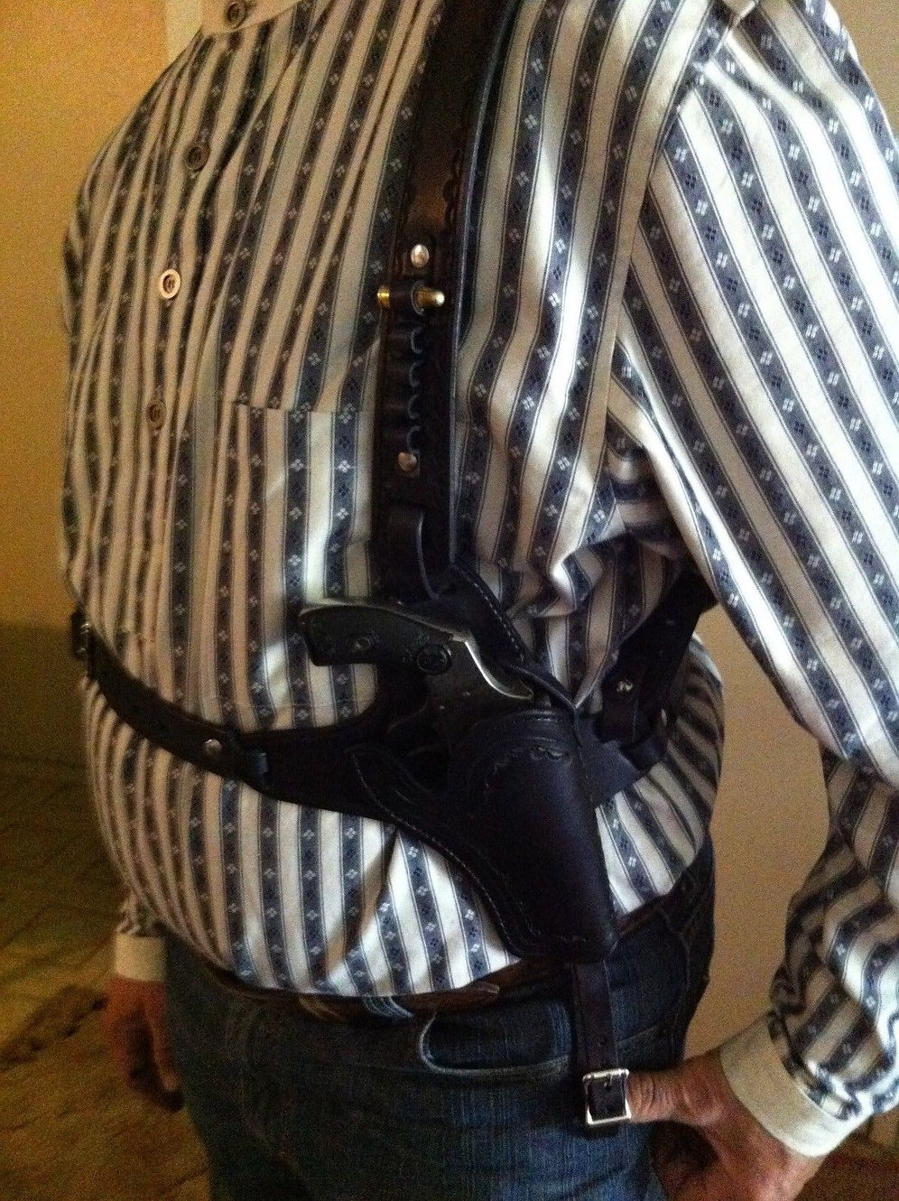 Doc Holliday Tombstone Shoulder Holster | Foo Fa Raw Leather
