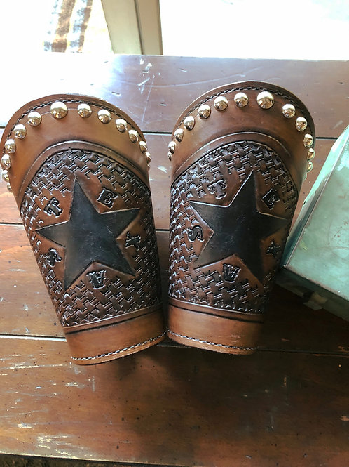 Texas Star Roping Cuffs