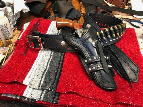 Johnny Ringo Holster Gun Belt Combo