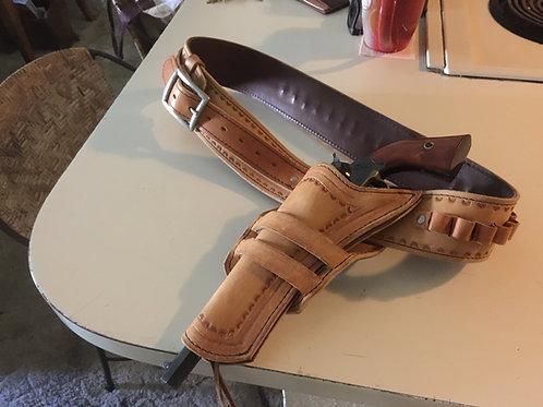 The Natural Gun Belt Holster Combo