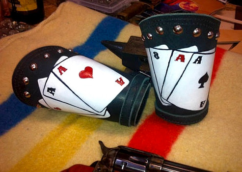 Aces & Eights Cowboy Roping Cuffs