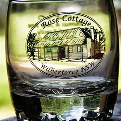 Rose Cottage Scotch Glasses
