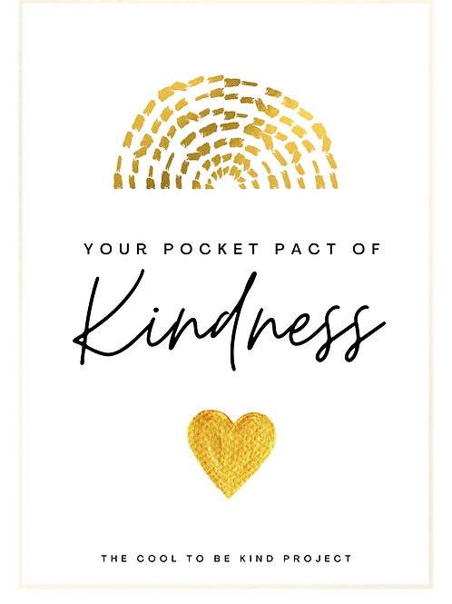 """A Pact of Kindness"" Cards"