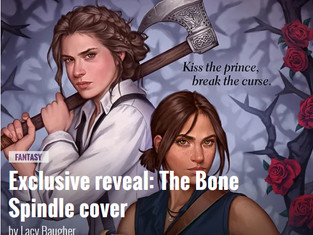 The Bone Spindle COVER REVEAL!!!